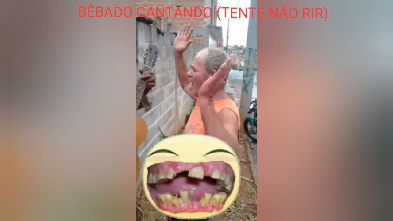 BÊBADO CANTANDO - TENTEI TE ESQUECER (TENTE NÃO RIR)