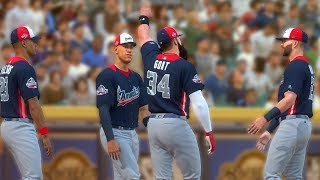 MIGHTY GOAT vs.  MIKE TROUT IN THE HOME RUN DERBY! MLB The Show 18 | Road To The Show