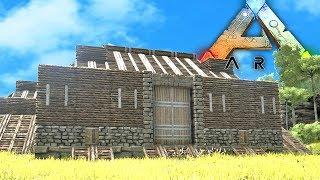 ARK Survival Evolved - BUILDING THE BIGGEST BASE!! Ark Survival Evolved 258! (Ark Survival Evolved)