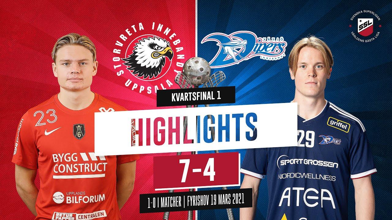 Download Highlights Quarterfinal 1 Storvreta IBK vs Växjö IBK 7-4