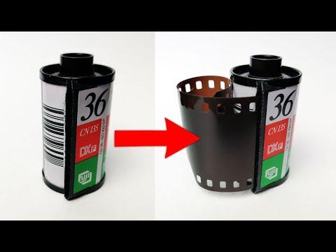Как открыть пленку для фотоаппарата