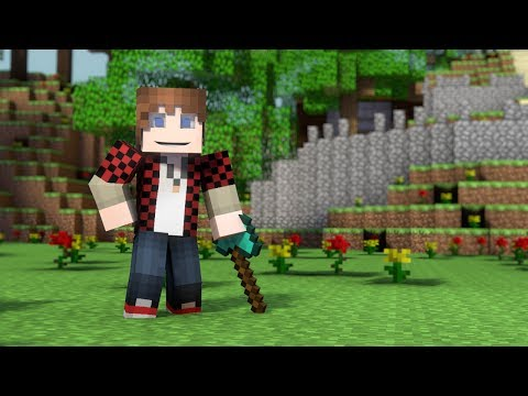 "♪ Hunger Games Song"" - A Minecraft Parody of Decisions by Borgore (Music Video)"