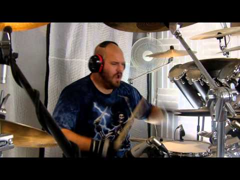 "Bawitdaba - Kid Rock - Drum Cover - AJ ""Nytro"" Nystrom - Nytro Drums"