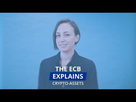 The ECB explains: crypto-assets