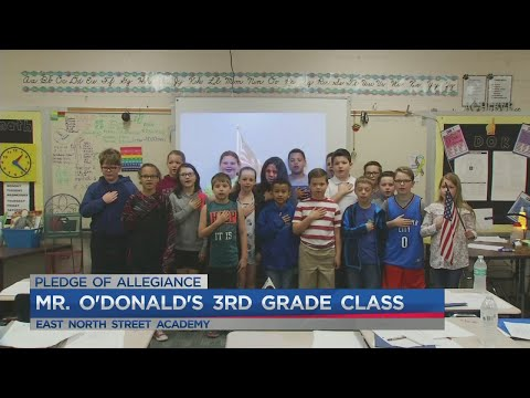 Mr. O'Donald's 3rd grade class at East North Street Academy
