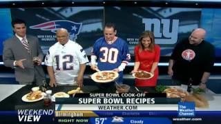 Varasano's Weather Channel Superbowl 2