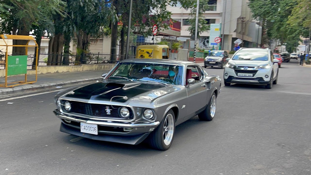 1969 Ford Mustang Mach 1 In INDIA (Bangalore)