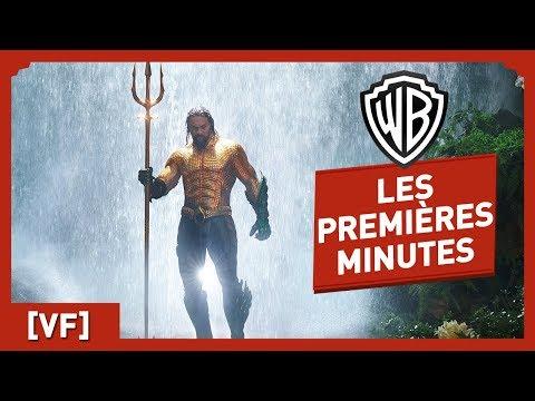 Aquaman - Regardez les premières minutes du film !