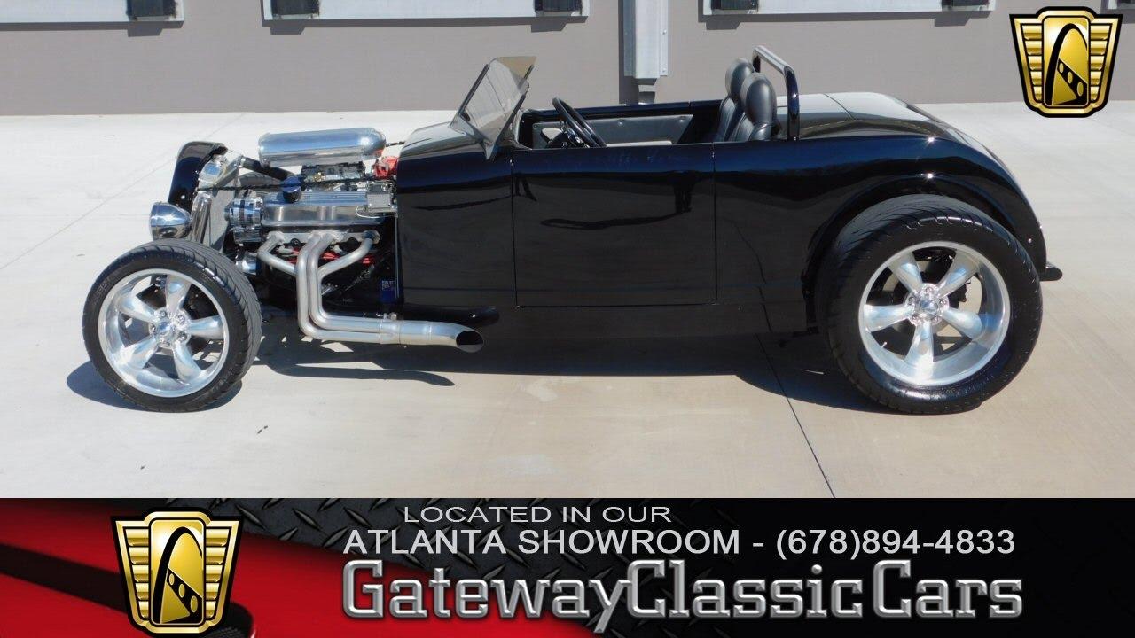1932 Custom Ford Roadster - Gateway Classic Cars of Atlanta #266 ...