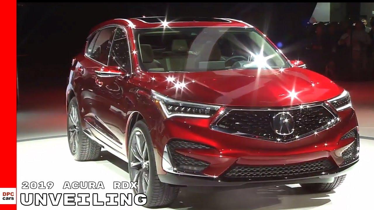 2019 Acura RDX Unveiling - YouTube on