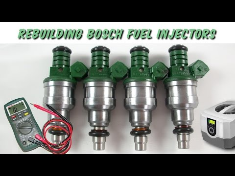Rebuilding BOSCH Fuel Injectors EV1 | DIY for Under $20!