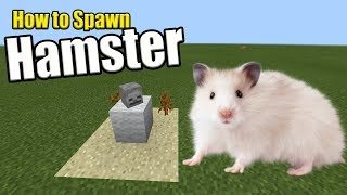 How to Spawn a HAMSTER | Minecraft PE