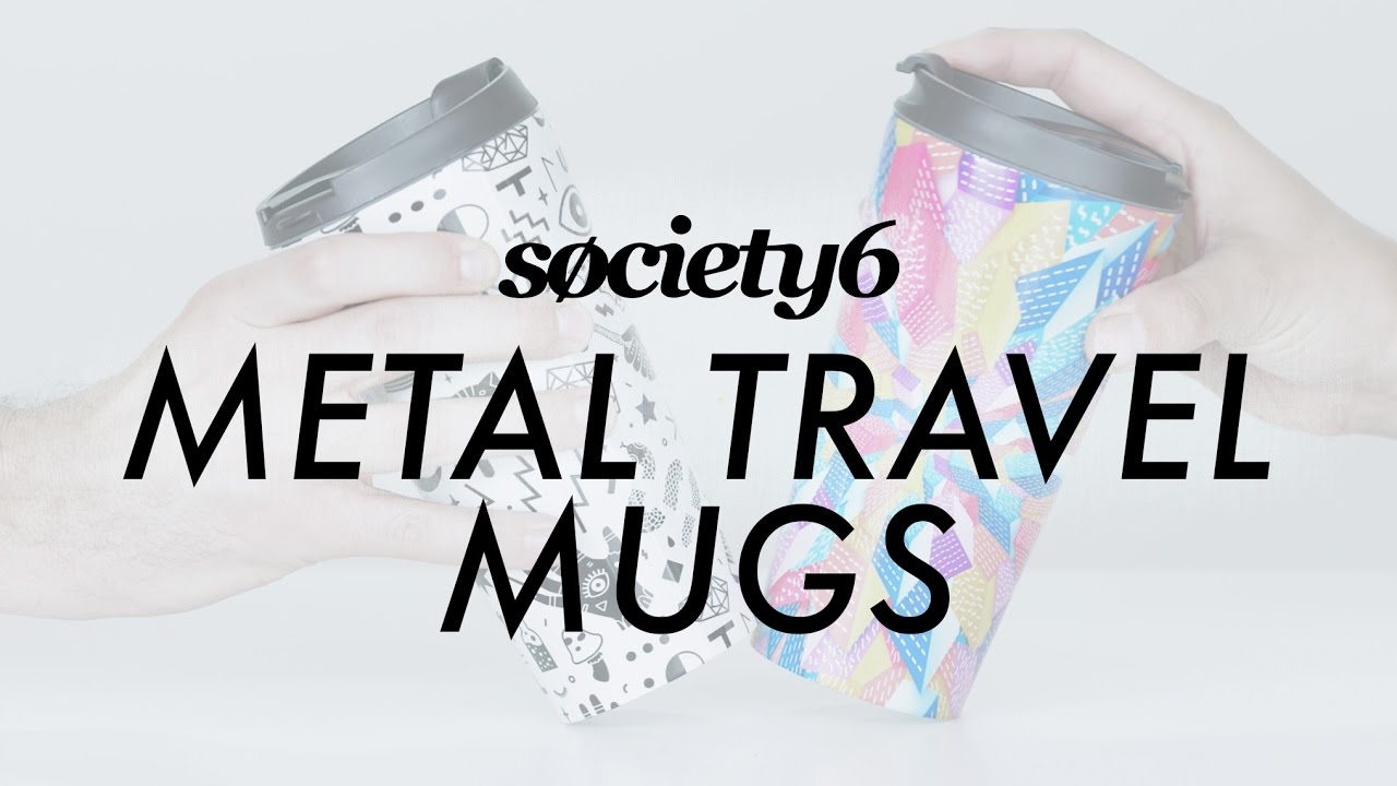 metal travel mugs from