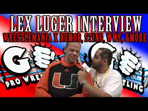 Lex Luger Interview | GO Pro Wrestling
