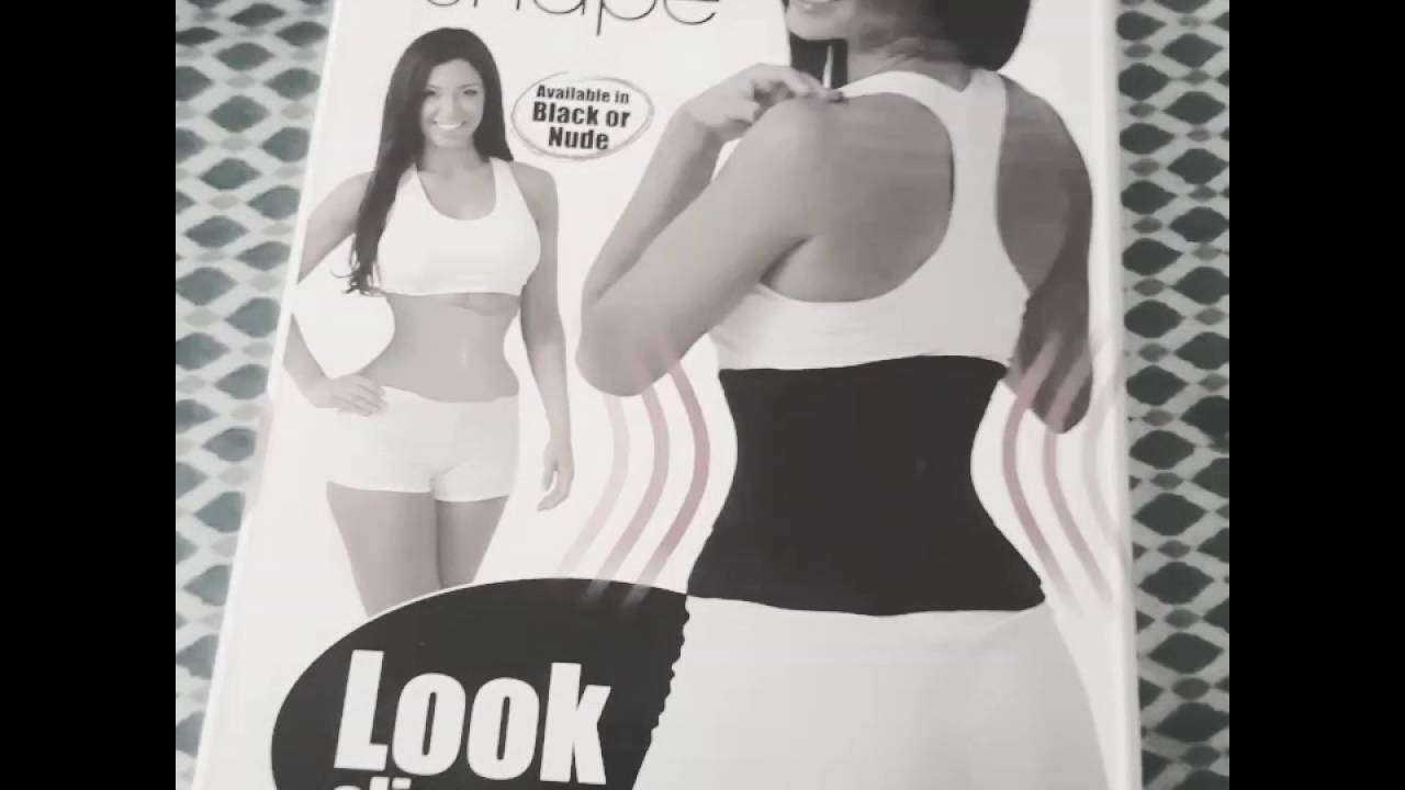 8abc2f3a1a Does the instant hourglass shape belt waist trainer work    - YouTube
