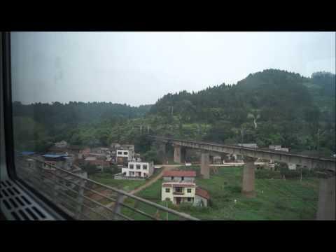 China by train, Chengdu to Chongqing