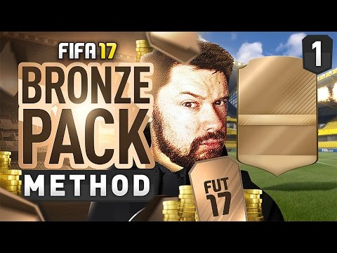 BRONZE PACK METHOD! (BPM) Episode 1 #FIFA17 Ultimate Team