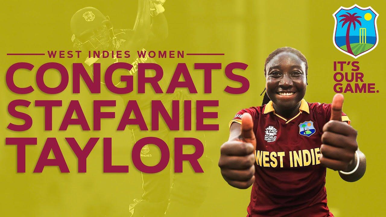 3000 IT20 Runs! | Congrats to Stafanie Taylor | Windies Women v England 2020 | Windies Cricket