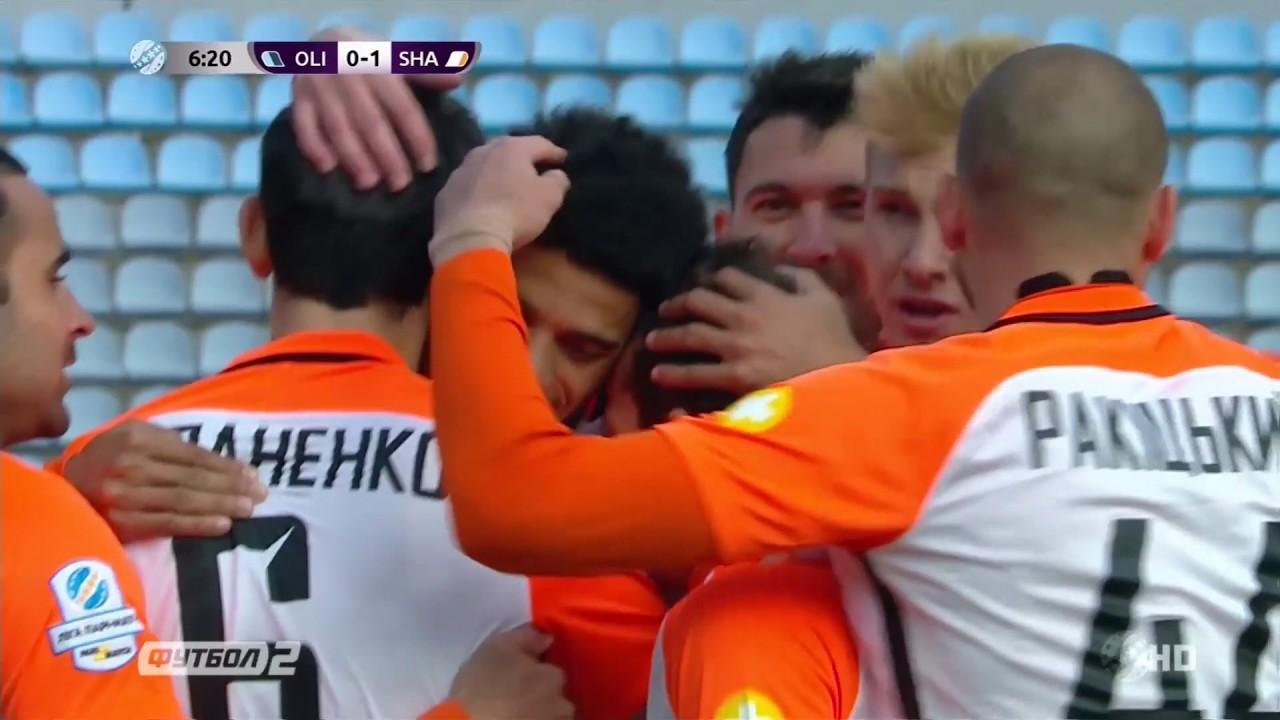 Олимпик Донецк - Шахтер 0:4 видео