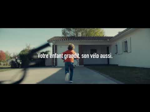 Votre enfant grandit, son vélo aussi - INTERSPORT Spot TV