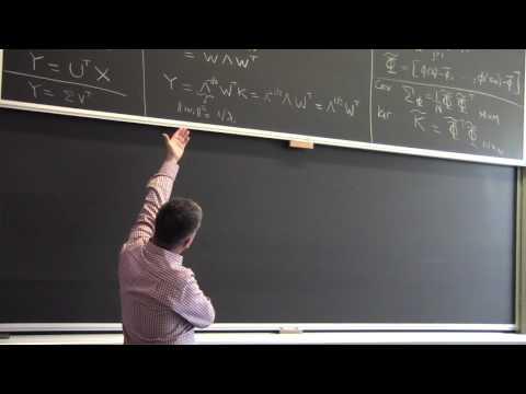 Lecture 14 | Kernel PCA (hopkins)