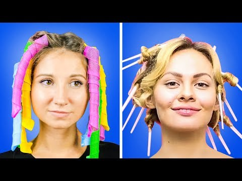 27 WEIRD AND BRILLIANT HAIR HACKS FOR GIRLS