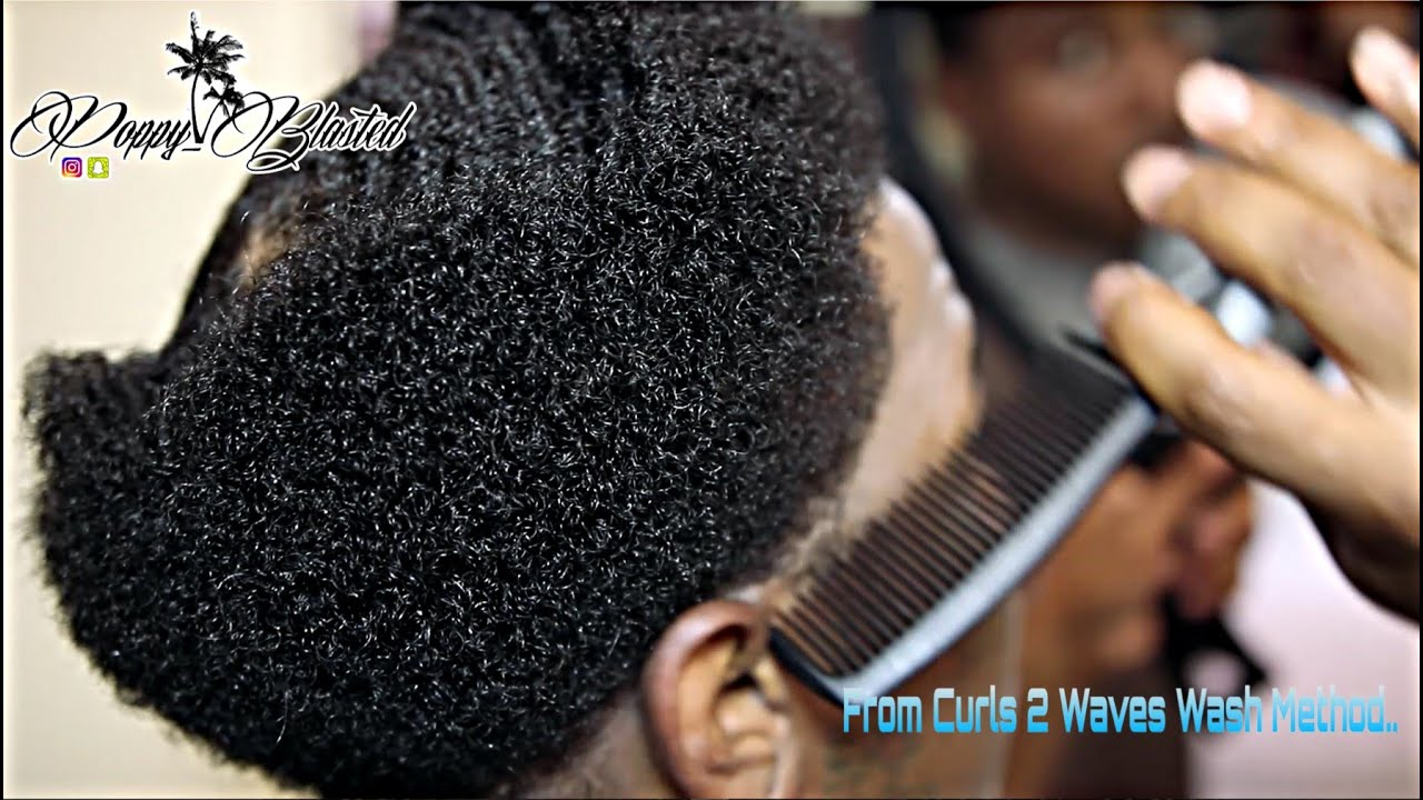 How to make your 360 waves wider from curl to waves wash method how to make your 360 waves wider from curl to waves wash method youtube urmus Gallery