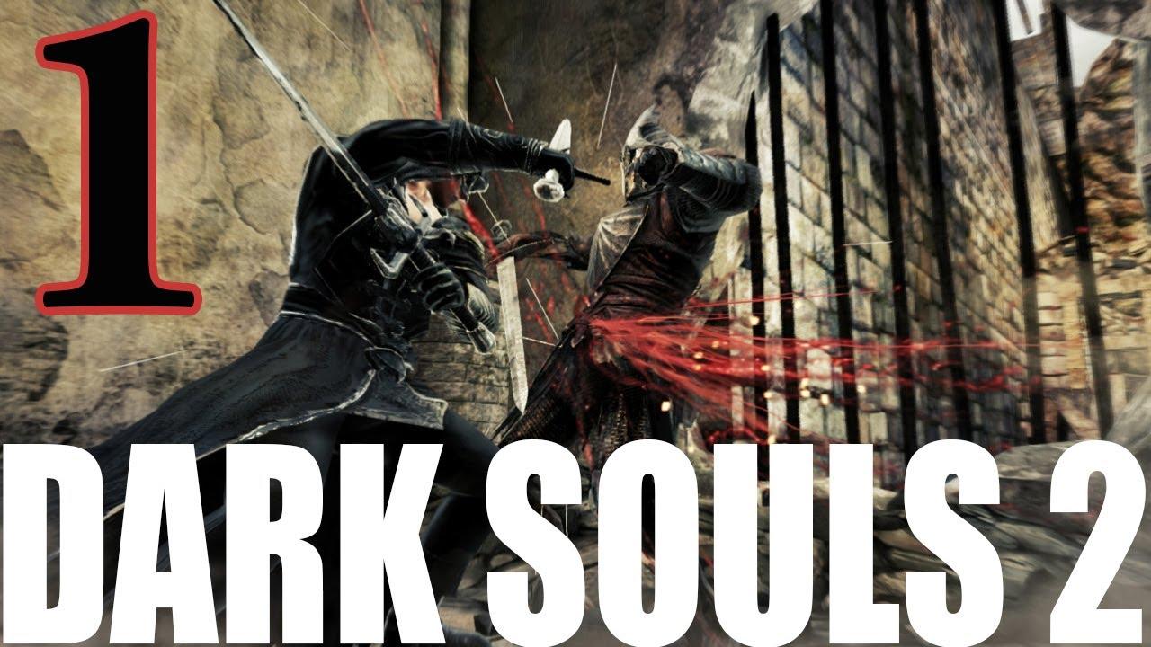Dark Souls 2 2014 All Cutscenes Walkthrough Gameplay: Dark Souls 2 Walkthrough Part 1 Let's Play Swordsman Class