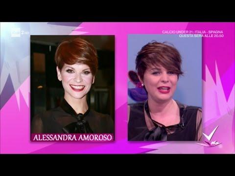 La Sosia Di Alessandra Amoroso Detto Fatto 27 03 2017 Youtube