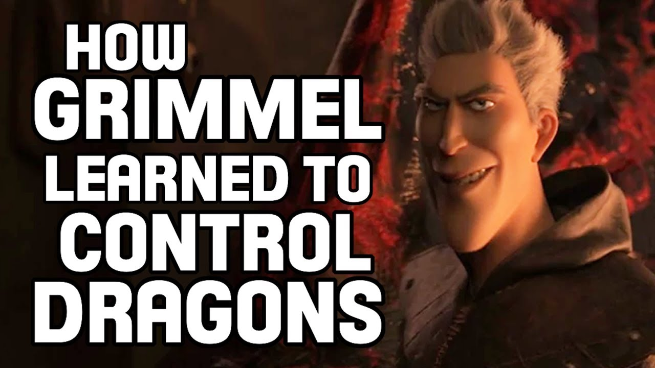 How Grimmel Learned To Control Dragons! | How To Train Your Dragon