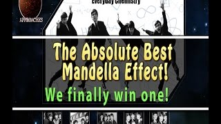 "is this a mandela effect win? ""everyday chemistry"" the new beatles album that you never heard"