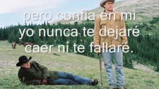 a love that will never grow old (brokeback mountain) español