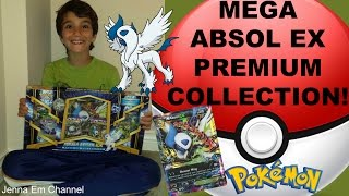 Pokemon Mega Absol EX Premium Collection Unboxing! Mega Gengar EX, Articuno & Rhyperior full art