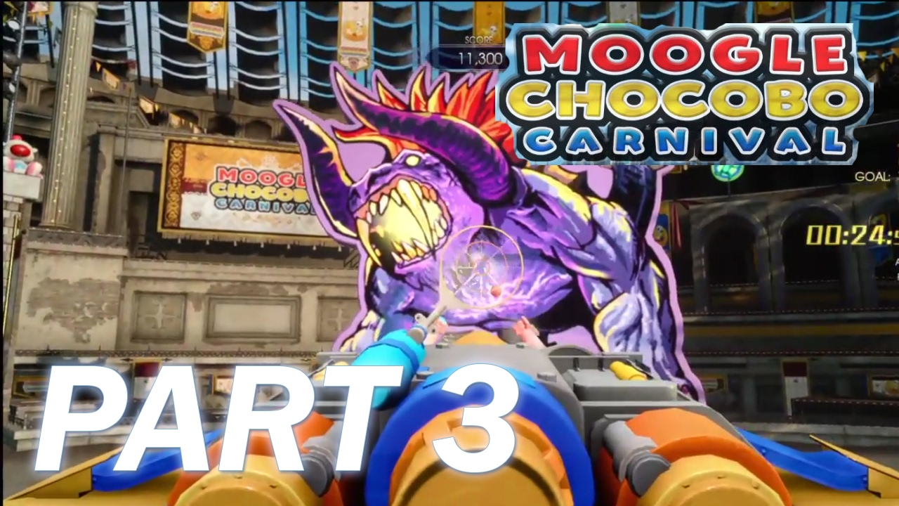 how to get around moogle chocobo carnival