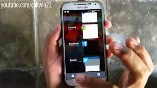 Android: Cara menghentikan aplikasi yang berjalan di samsung Galaxy S4