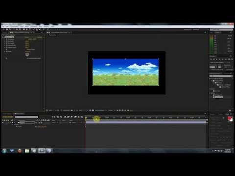 Sprite Animations Inside AE - The Scrolling Background!