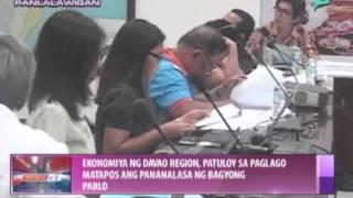 Ekonomiya ng Davao Region, patuloy sa paglago matapos ang pananalasa ni