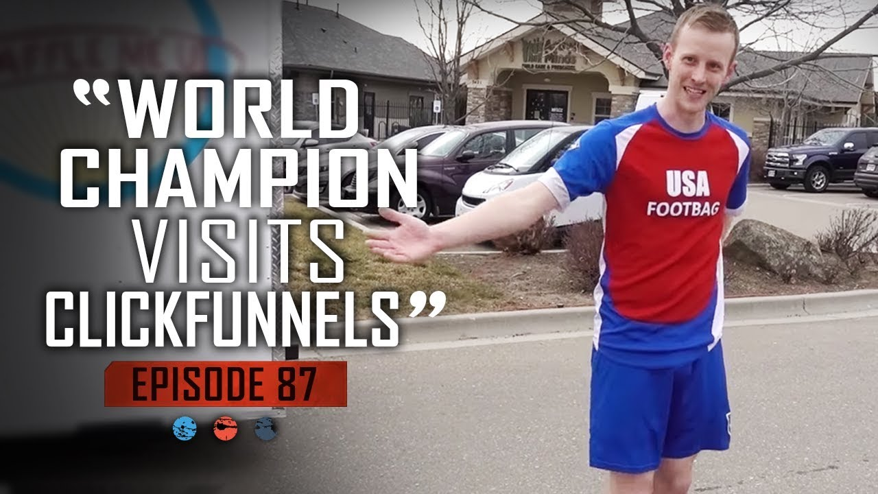 World Champion Visits Clickfunnels   Funnel Hacker T.V Ep 87