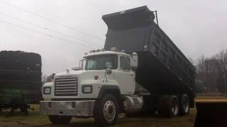 1996 Mack Tandem Axle Dump Truck