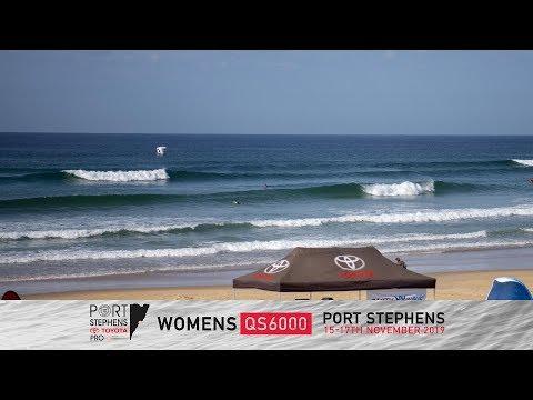 Port Stephens Toyota Pro - Day 1