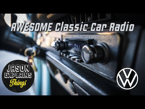 How To Install An Awesome Classic Car Radio (VW Bug)