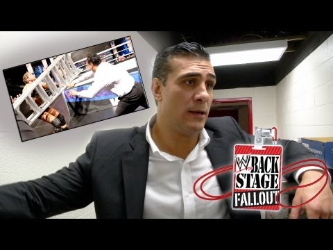 Backstage Fallout - SmackDown - Alberto Del Rio's 'Extreme' Advantage - May 10, 2013