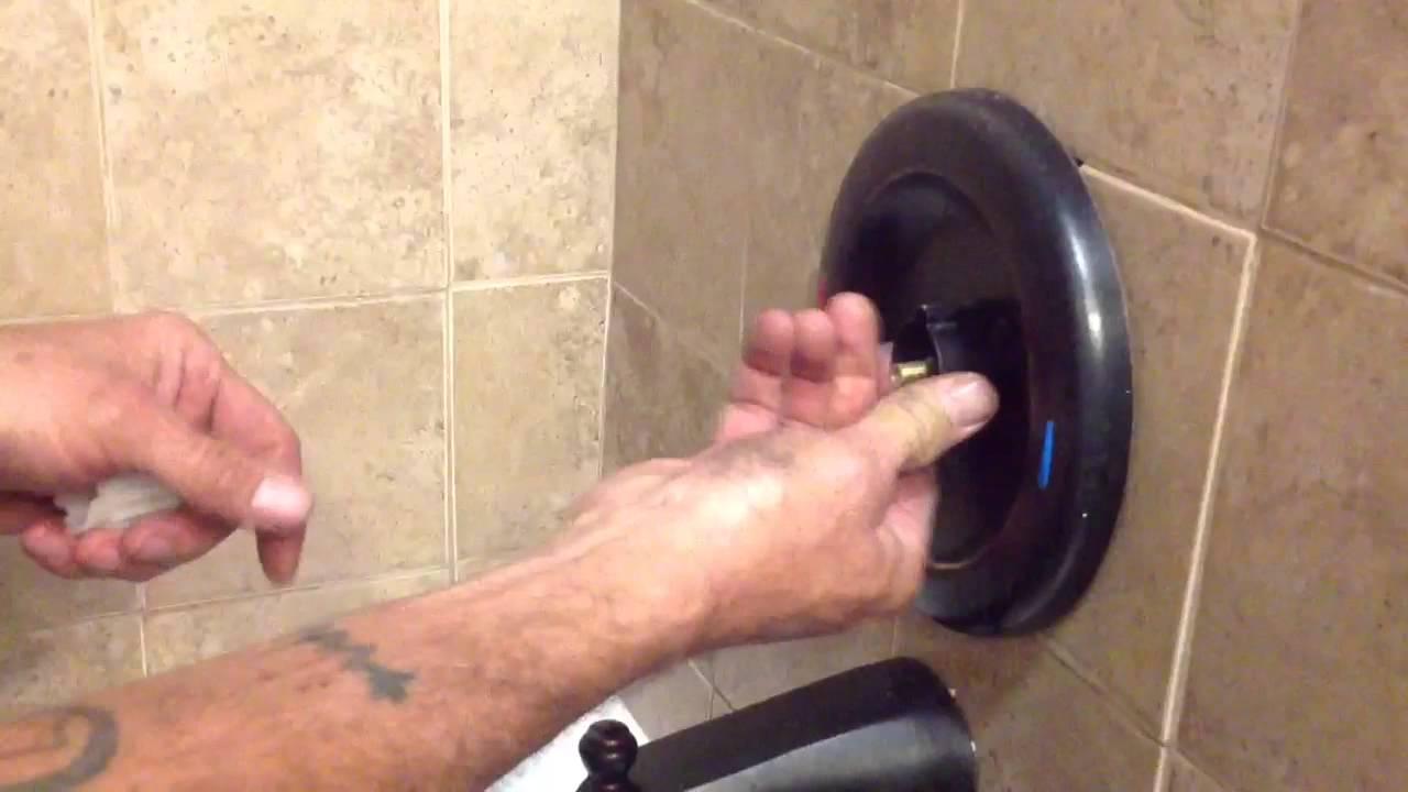 Moen faucet loose handle - YouTube