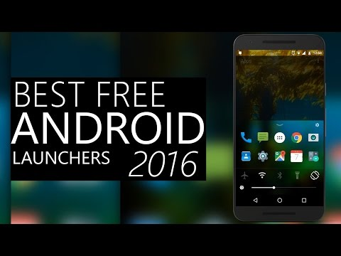 Top 5 Best FREE Android Launchers 2016 - 2017! Customize Your Android Phone With Best Android Themes