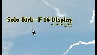 F-16 Solo Türk Display on ILA 2014