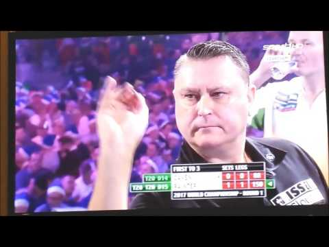 Sport1 HD Tag 1 Darts WM 2017 Kevin Painter - Jamie Caven