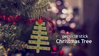 DIY Popsicle Stick Christmas Ornament | Christmas Decor