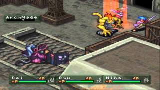 Breath of Fire 3 - 0 Exp Run BLOOPERS