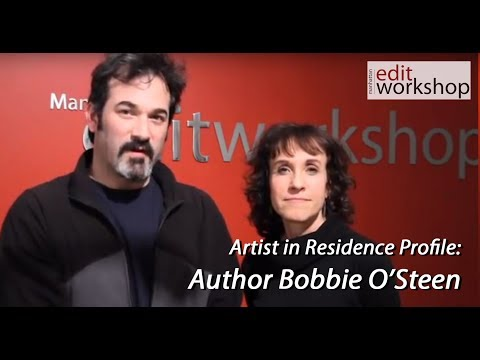 Author & Film Historian Bobbie O'Steen Talking with MEWShop Owner Josh Apter About Editing
