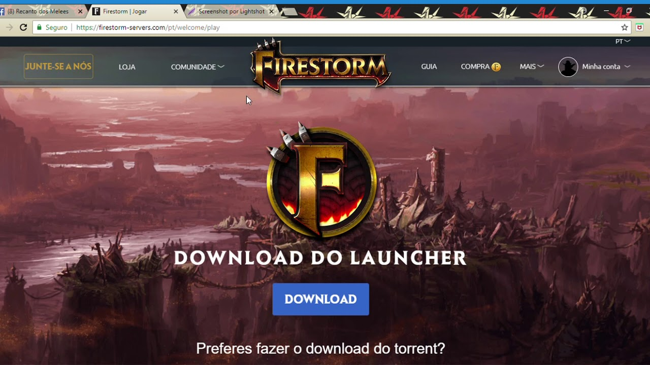 FIRESTORM TÉLÉCHARGER LAUNCHER